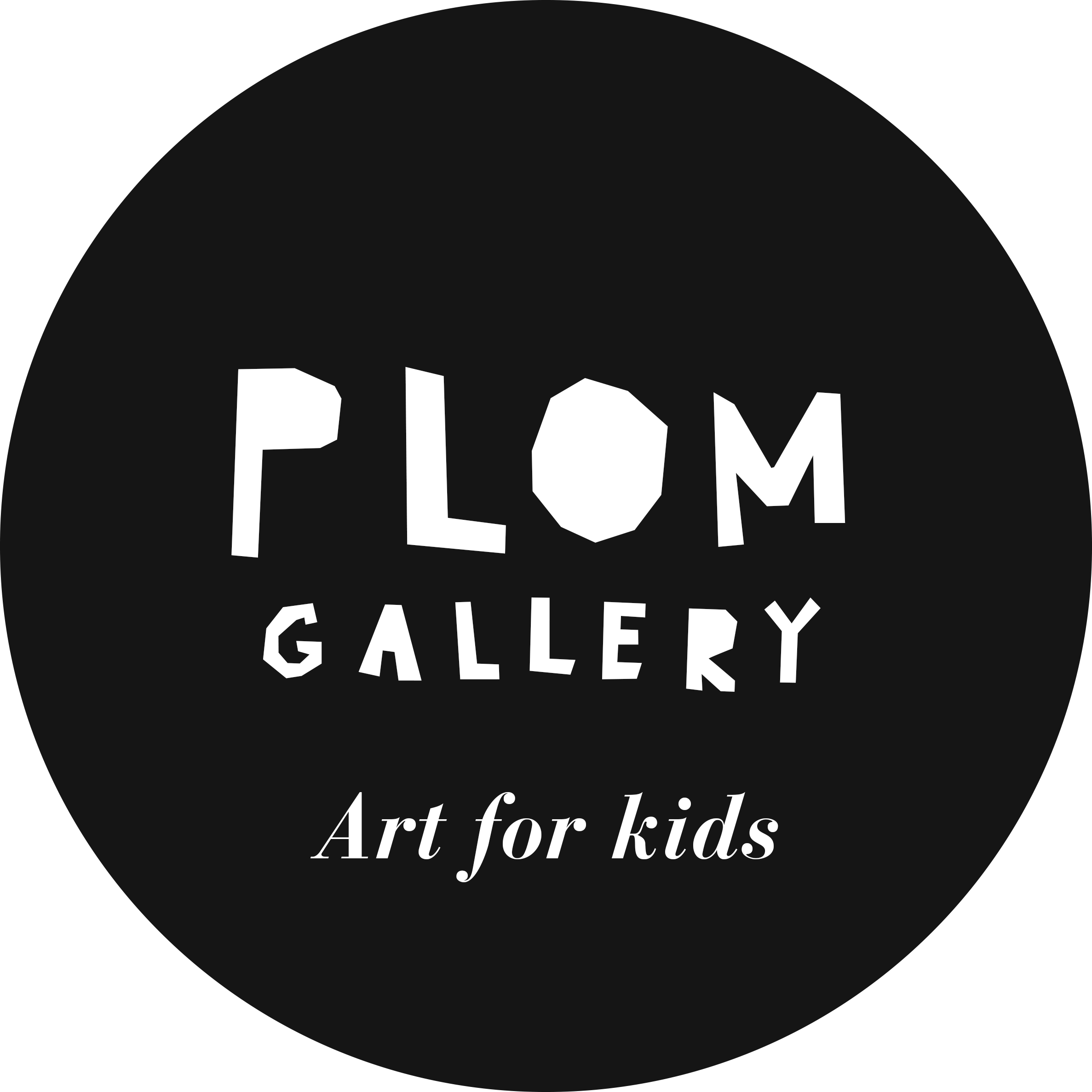 PLOM, art for kids